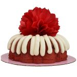 10-inch red velvet bundt cake with cream cheese frosting. Nothing Bundt Cake, Tulsa Photo by Natalie Green.